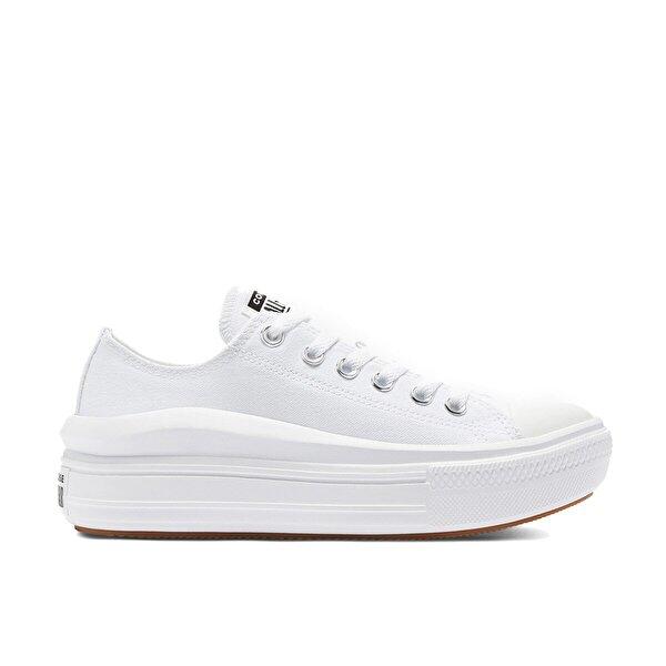 Converse CHUCK TAYLOR ALL STAR MOV Beyaz Kadın Sneaker