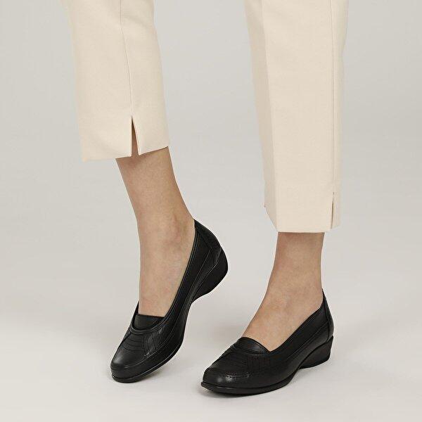 Polaris 5 Nokta 103269.Z1FX Siyah Kadın Klasik Ayakkabı