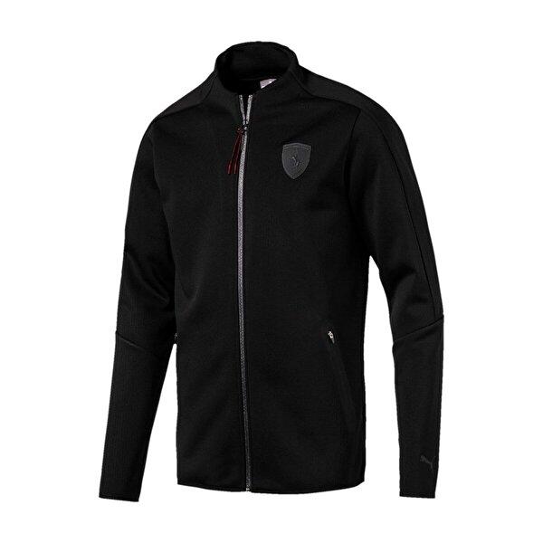 Puma FERRARI T7 TRACK JACKET Siyah Erkek Ceket