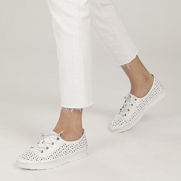 Polaris 5 Nokta 103208.Z1FX Beyaz Kadın Klasik Ayakkabı