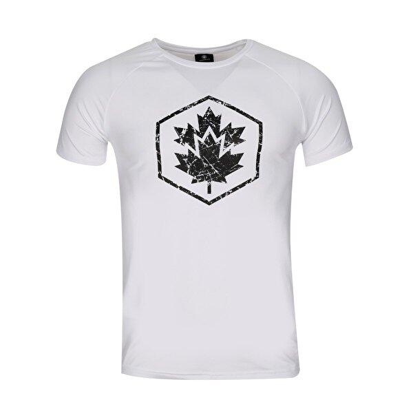 Lumberjack CT385 TWIGGY T-SHIRT Beyaz Erkek T-Shirt