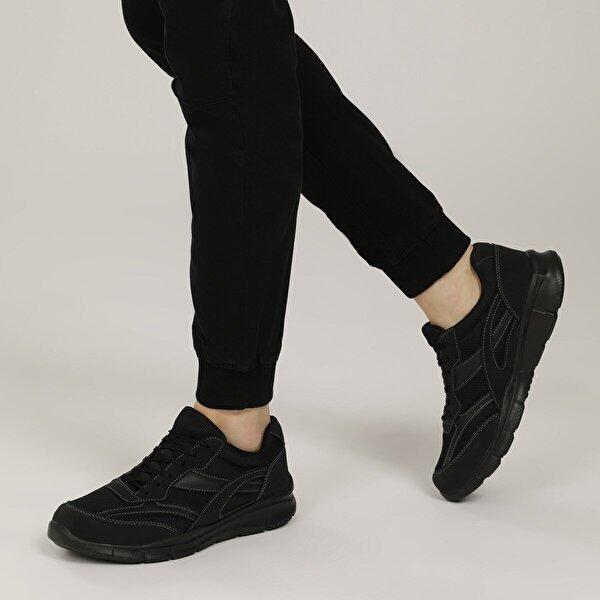 Polaris 356503.M1FX Siyah Erkek Casual Ayakkabı