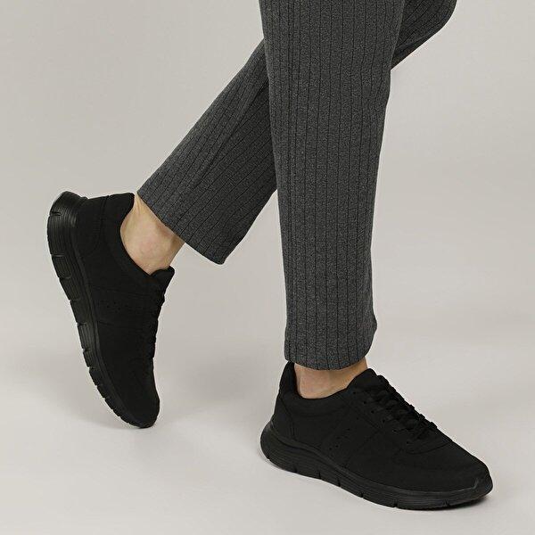 Polaris 356746.M1FX Siyah Erkek Casual Ayakkabı