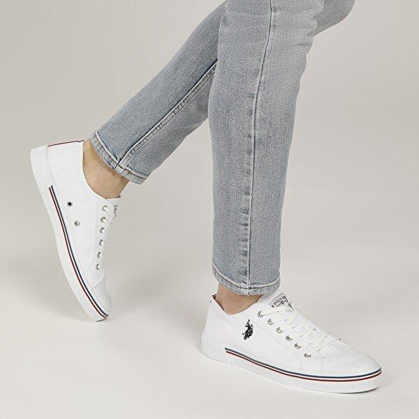 U.S. Polo Assn. PENELOPE 1FX Beyaz Erkek Sneaker Ayakkabı