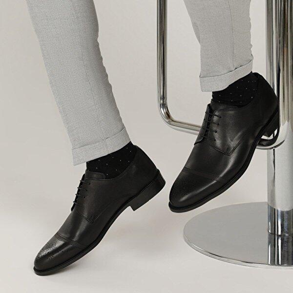 Garamond 2632 1FX Siyah Erkek Klasik Ayakkabı
