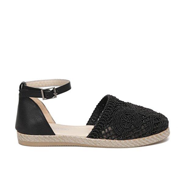 Butigo MAUİ 1FX Siyah Kadın Espadril Ayakkabı