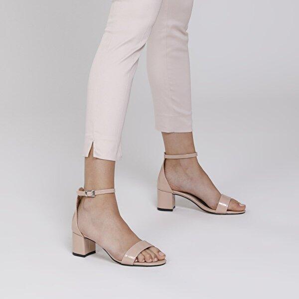 Butigo NATALİE 1FX Pudra Kadın Topuklu Ayakkabı