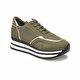 Butigo CS18053 Haki Kadın Spor Ayakkabı
