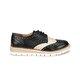 Polaris 71.310023.Z Siyah Kadın Maskulen Ayakkabı