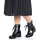 Butigo Z106 Siyah Kadın Maskulen Ayakkabı