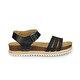Polaris 81.311333.Z Siyah Kadın Sandalet