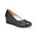 Polaris 5 Nokta 81.111042.Z Siyah Kadın Dolgu Topuklu Ayakkabı