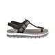 Butigo CS18130 Siyah Kadın Kalın Tabanlı Sandalet