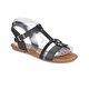Art Bella CS18128 Siyah Kadın Sandalet