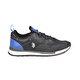 U.S. Polo Assn. GONZALEZ Siyah Erkek Sneaker Ayakkabı