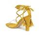 Butigo AFRO 51Z Sarı Kadın Sandalet