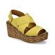Butigo NUDE*51Z Sarı Kadın Sandalet