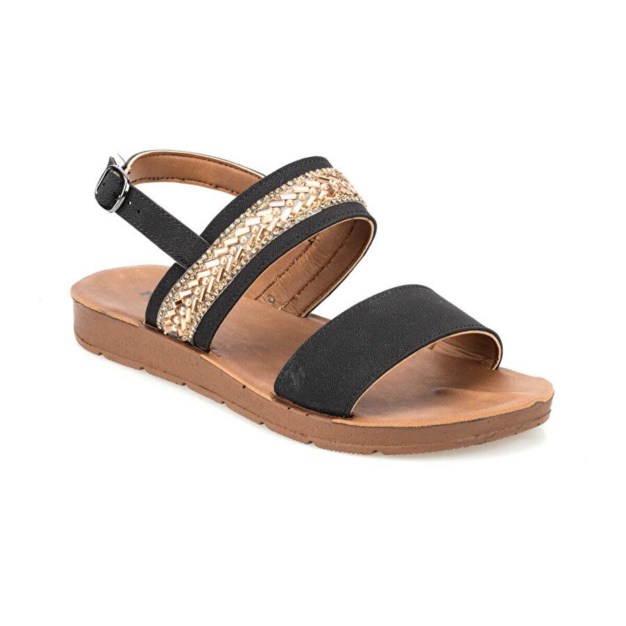 Polaris 91.313610.Z Siyah Kadın Sandalet