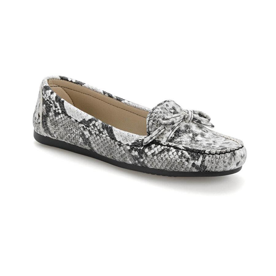 Miss F DS19031 Siyah Kadın Loafer Ayakkabı