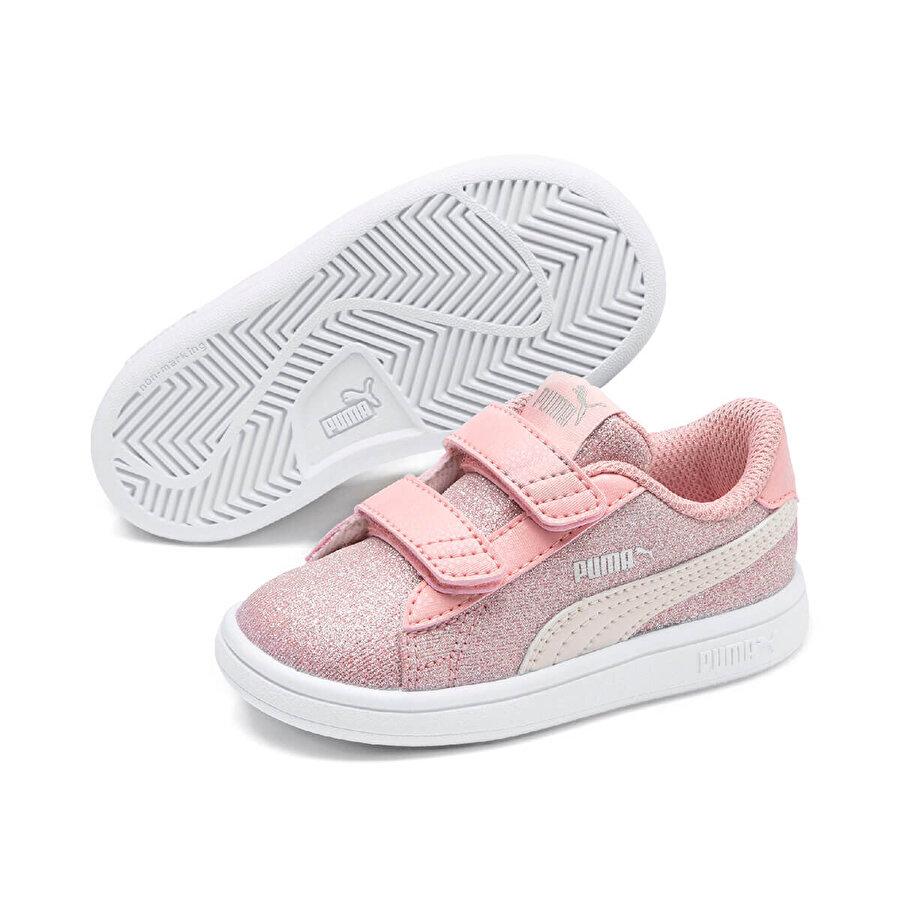 Puma SMASH V2GLITZ GLAMV INF Pembe Kız Çocuk Sneaker