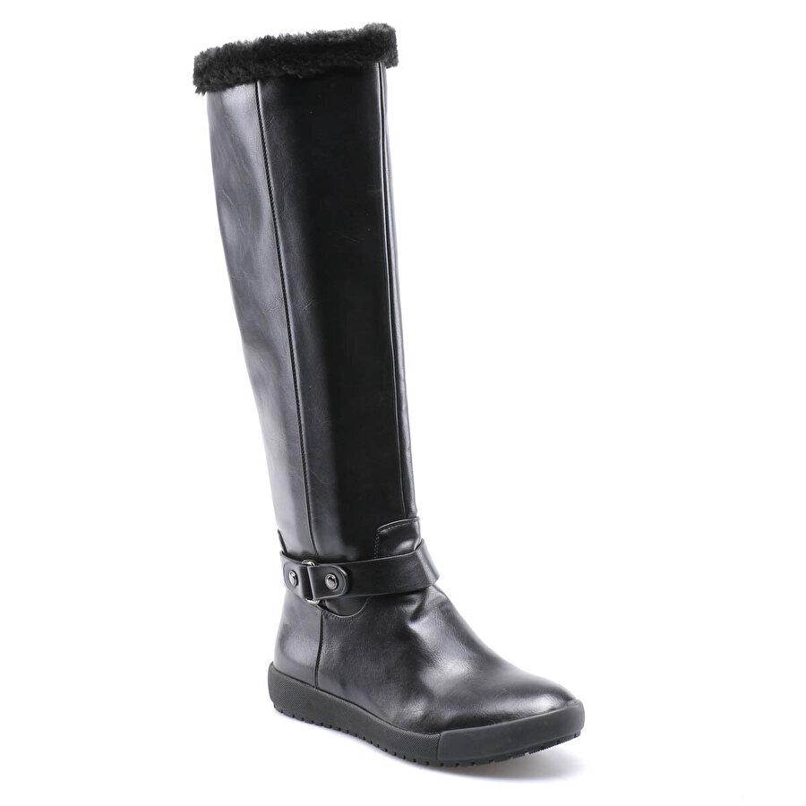 Miss F F17116 Siyah Kadın Binici Çizme