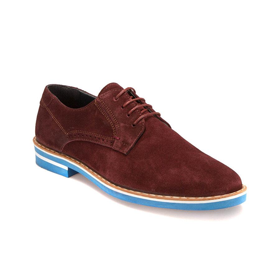 JJ-Stiller PRG-24 M 6683 Bordo Erkek Modern Ayakkabı