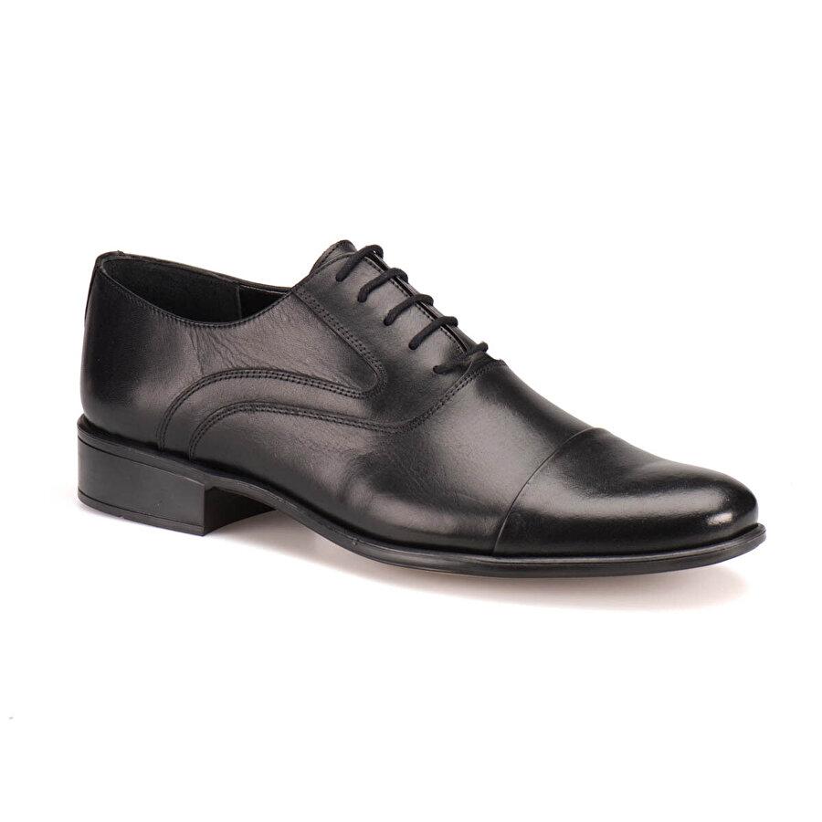 Garamond LX-1018 M 1602 Siyah Erkek Klasik Ayakkabı