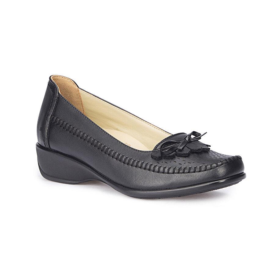 Polaris 5 Nokta 71.107056.Z Siyah Kadın Klasik Ayakkabı