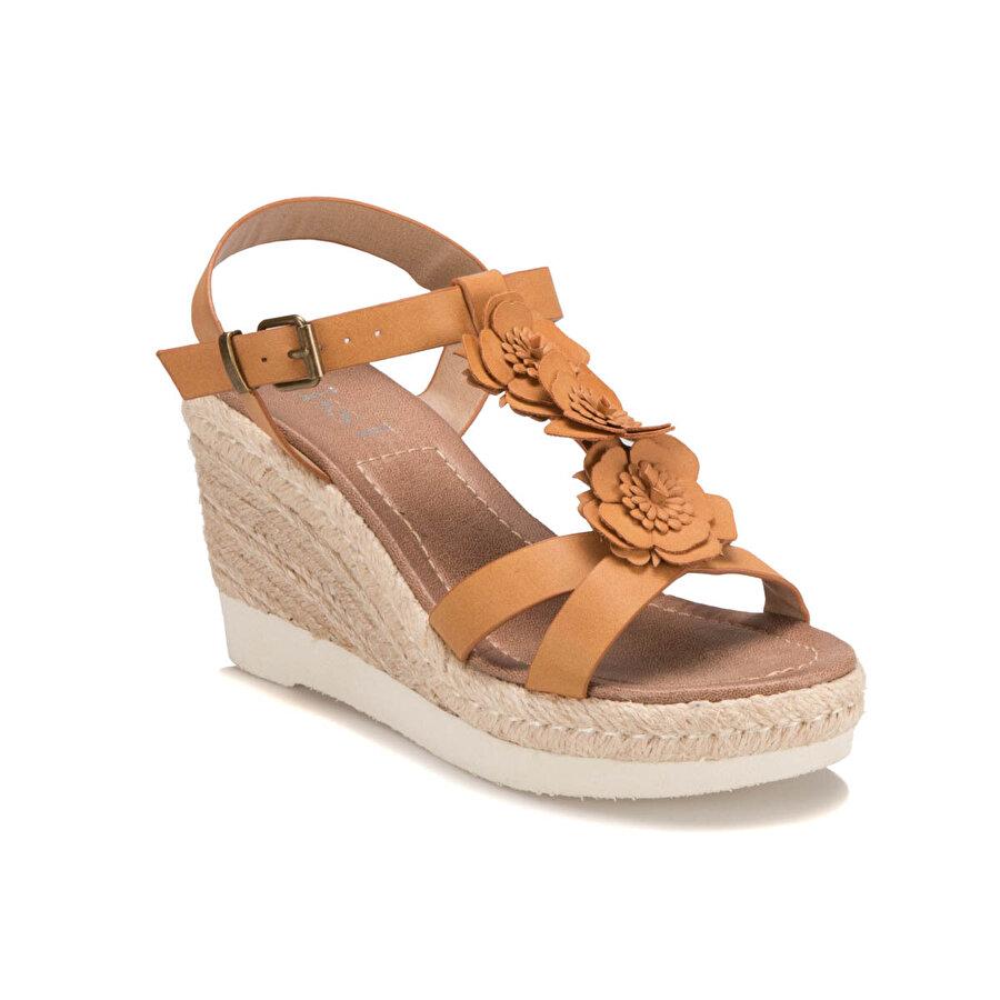 Miss F S17005 Kahverengi Kadın Klasik Ayakkabı