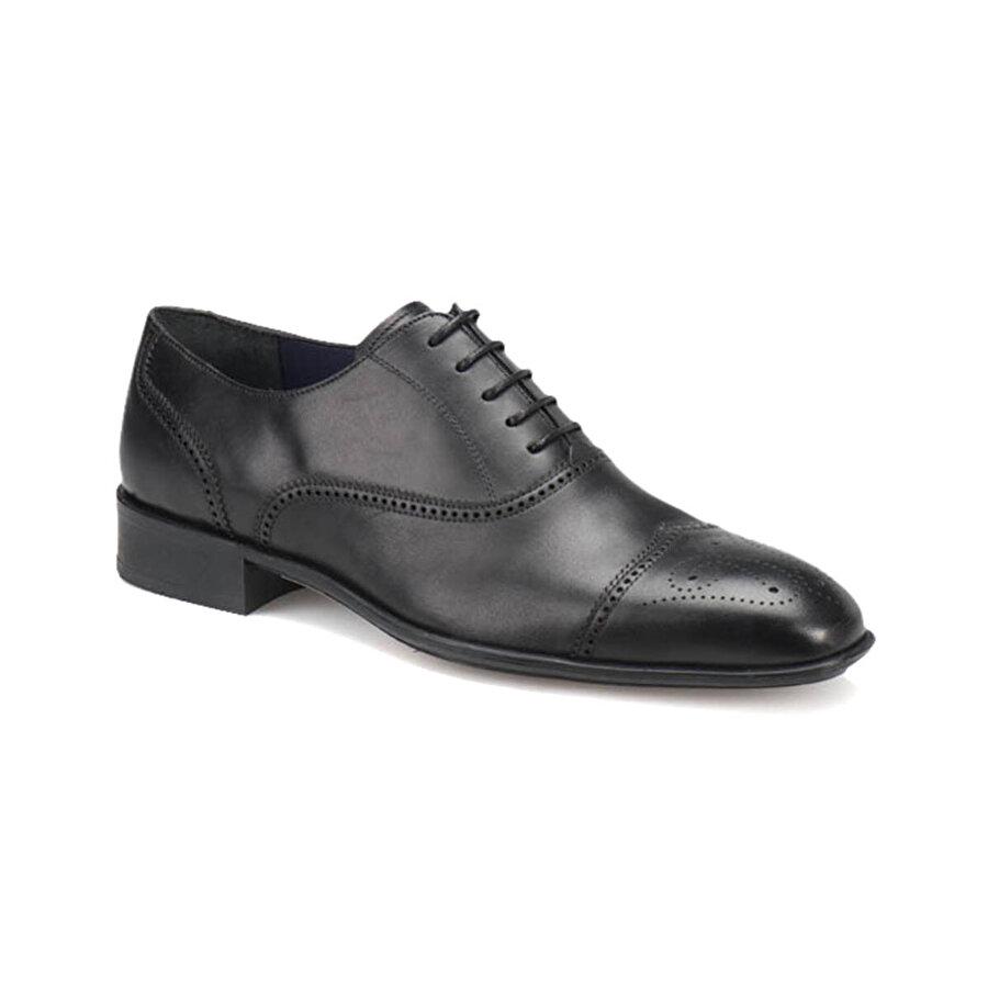 Garamond 2423-1 M 1559 Siyah Erkek Klasik Ayakkabı