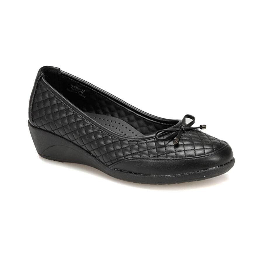 polaris 72.156074.Z Siyah Kadın Ayakkabı