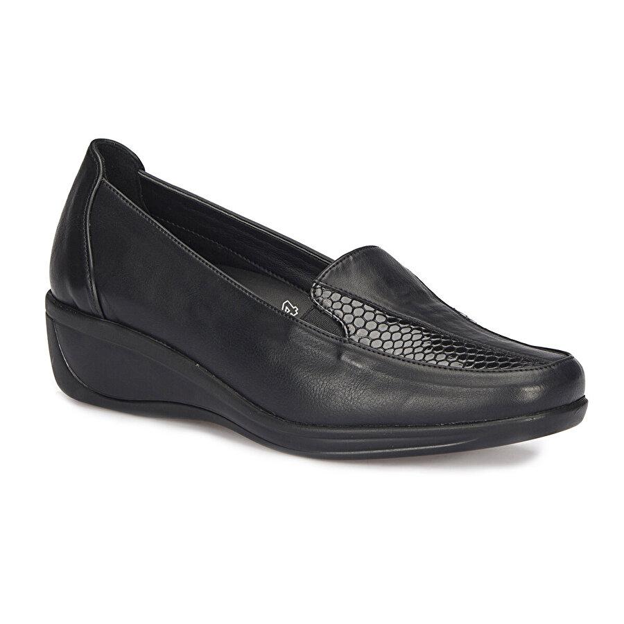 Polaris 5 Nokta 72.110008.Z Siyah Kadın Comfort Ayakkabı