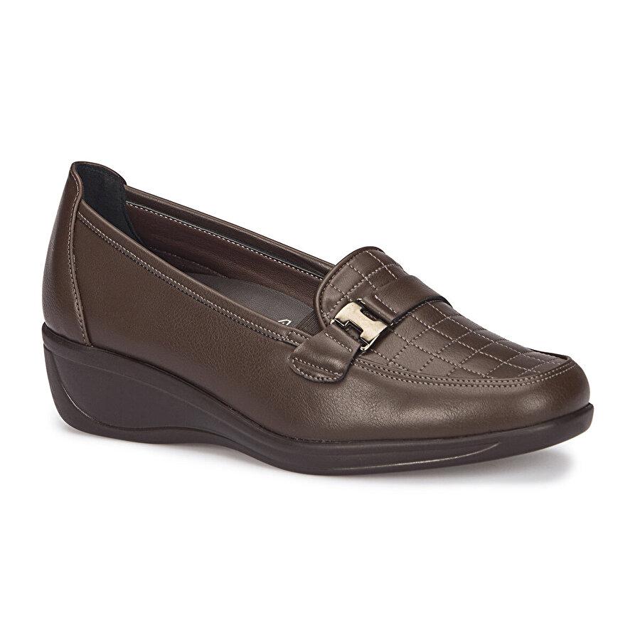 Polaris 5 Nokta 72.110007.Z Kahverengi Kadın Comfort Ayakkabı