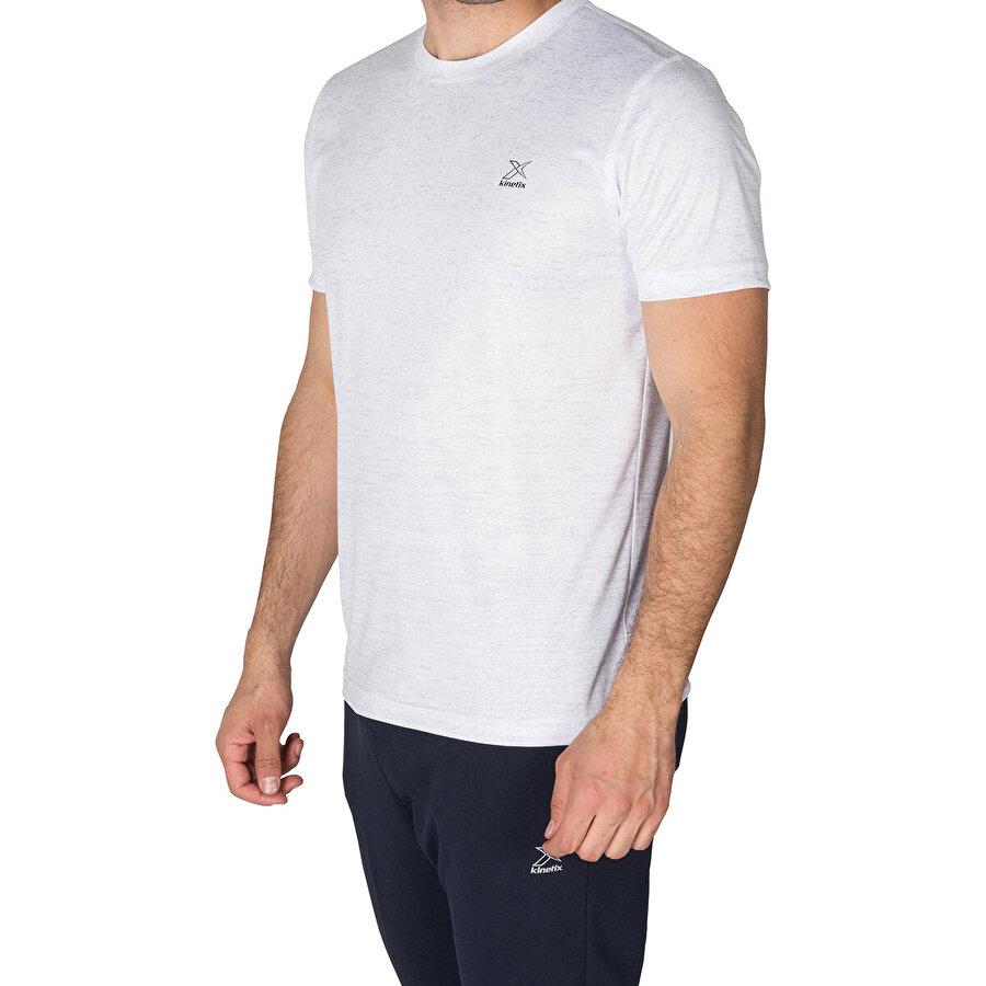 Kinetix SQUAD  T-SHİRT Gri Mel Erkek T-Shirt