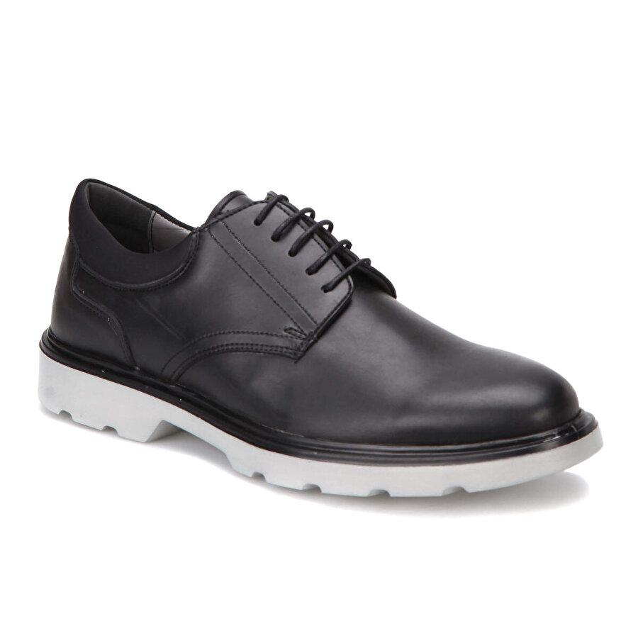 JJ-Stiller 53 Siyah Erkek Ayakkabı