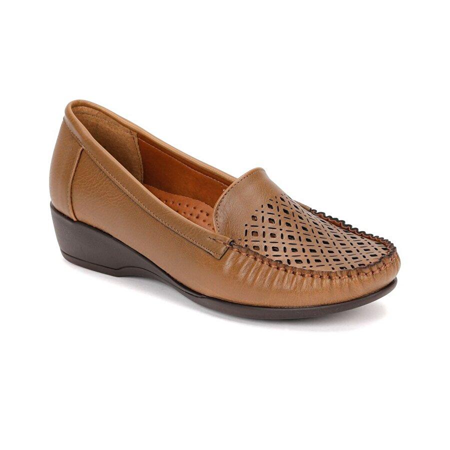Polaris 81.157281.Z Taba Kadın Loafer Ayakkabı