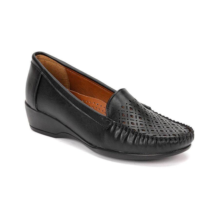 polaris 81.157281.Z Siyah Kadın Loafer Ayakkabı