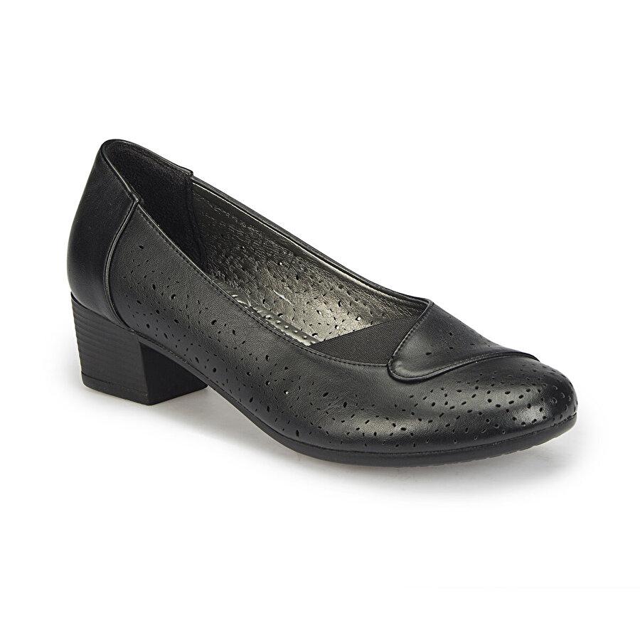 Polaris 81.158499.Z Siyah Kadın Gova Ayakkabı