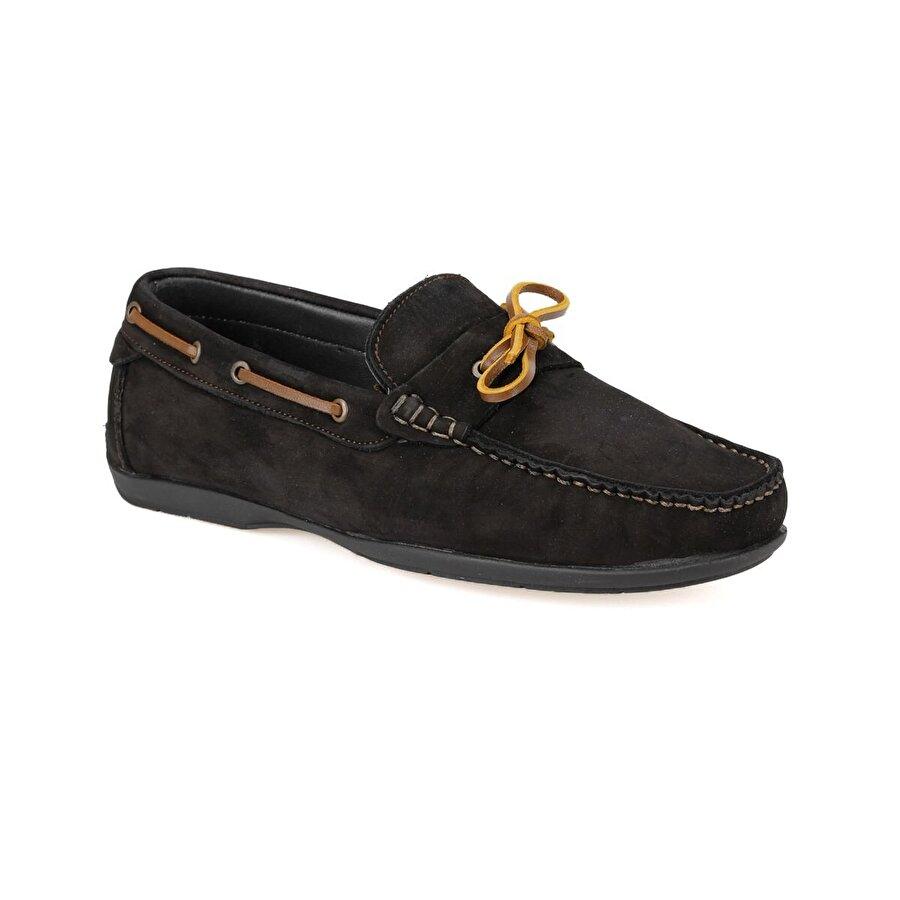 Mercedes MOURA Siyah Erkek Klasik Ayakkabı