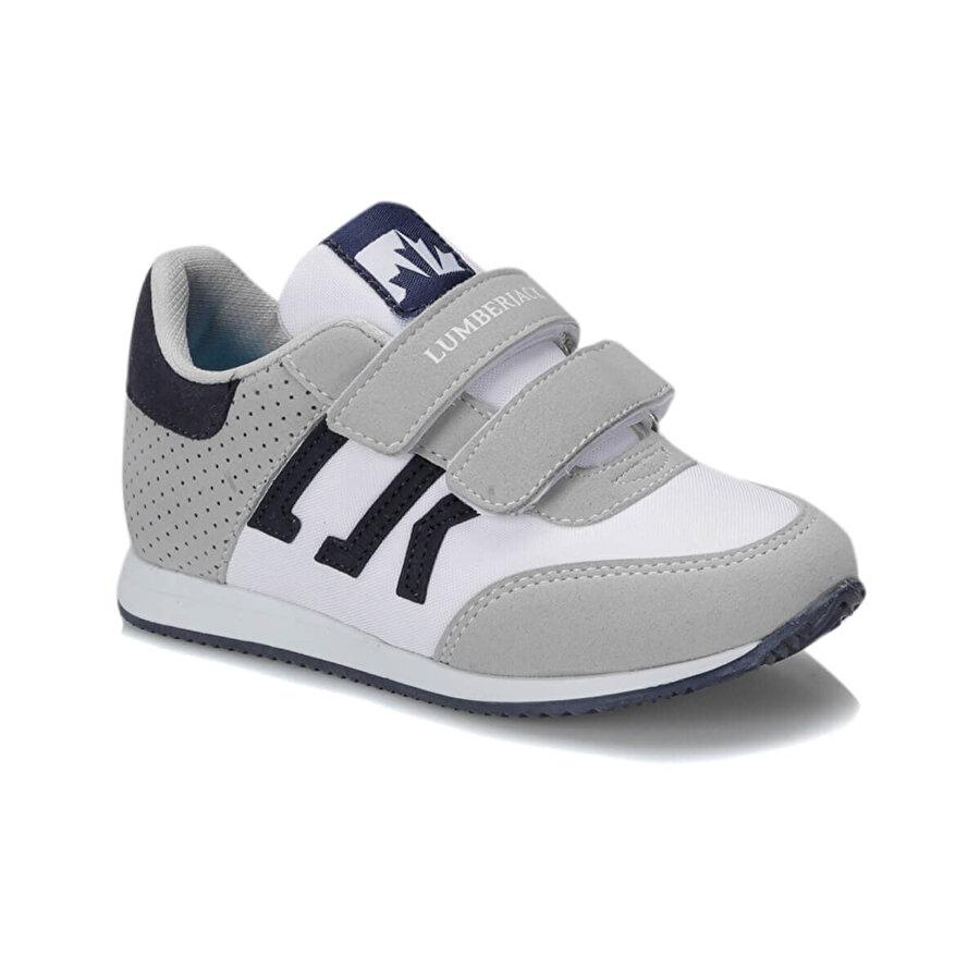 Lumberjack LOST Açık Gri Erkek Çocuk Sneaker Ayakkabı