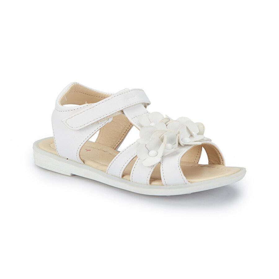 Pink Step PERI-1 Beyaz Kız Çocuk Sandalet