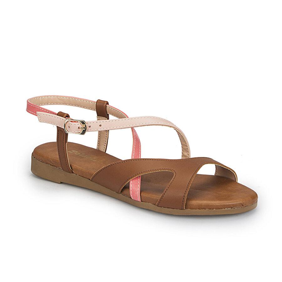 Polaris 81.310140.Z Taba Kadın Sandalet