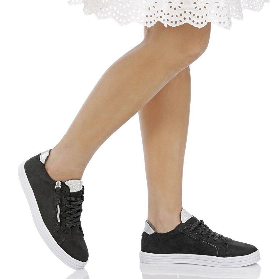 Butigo 18S-561 Siyah Kadın Sneaker Ayakkabı