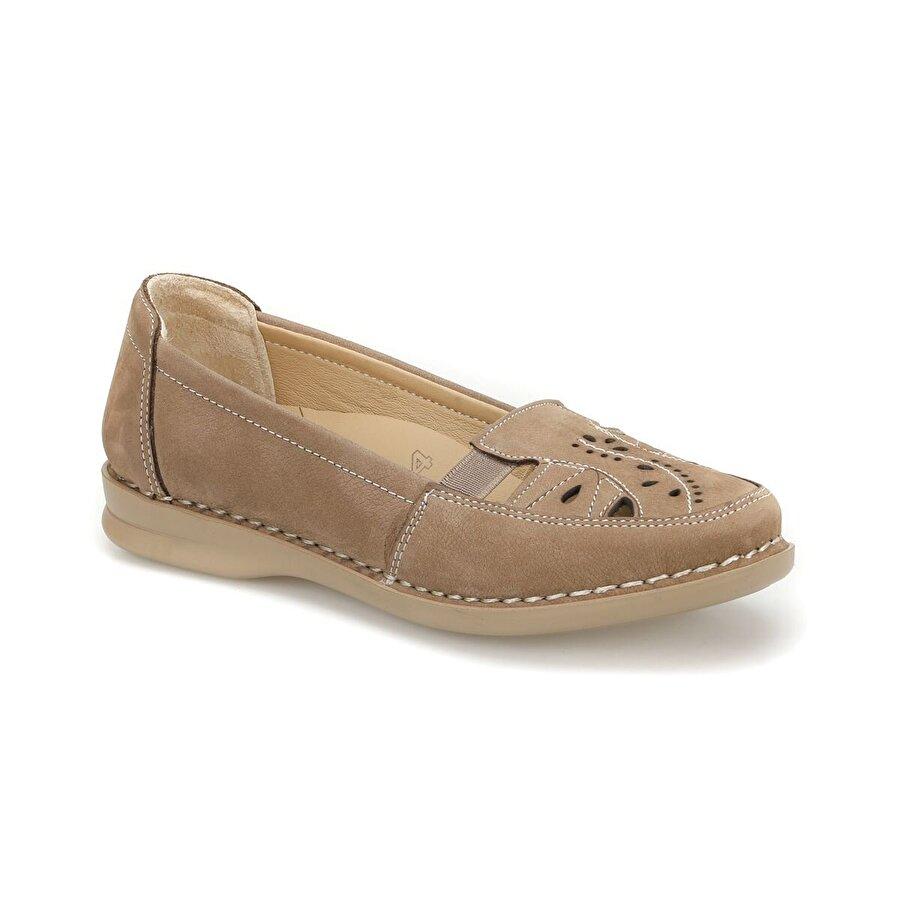 Polaris 5 Nokta 81.111090NZ Kum Rengi Kadın Ayakkabı