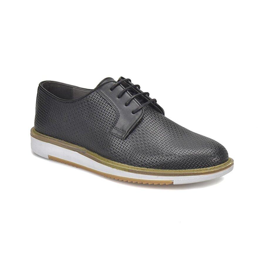 JJ-Stiller 71421-2 Siyah Erkek Ayakkabı