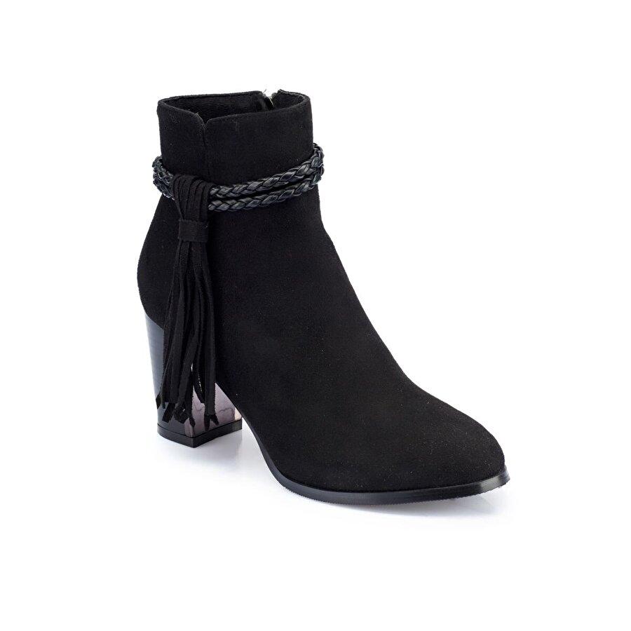 Polaris 82.310565.Z Siyah Kadın Topuklu Bot
