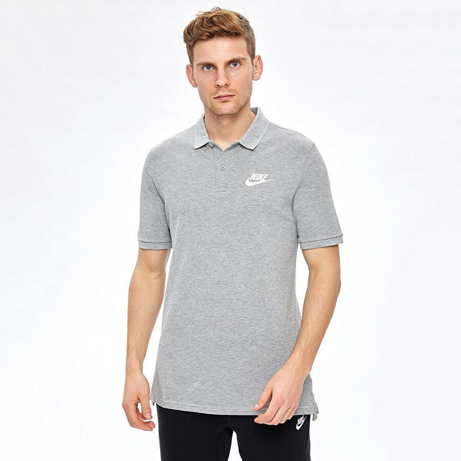 Nike M NSW POLO MATCHUP PQ Gri Erkek T-Shirt
