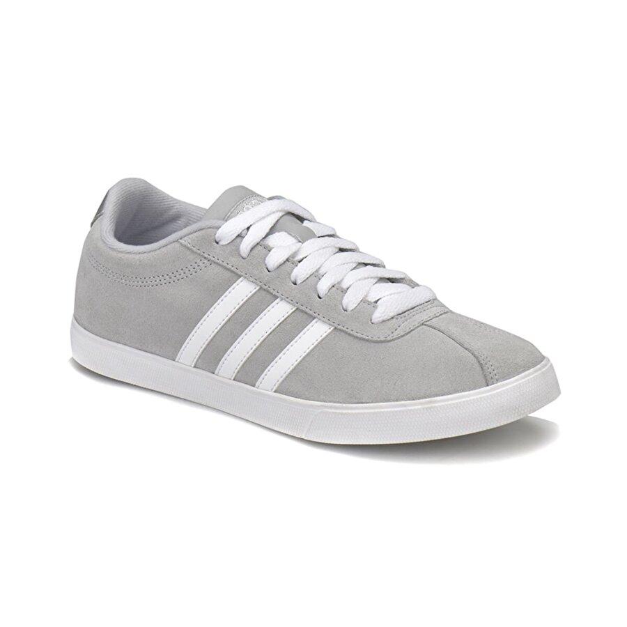 adidas COURTSET Gri Kadın Sneaker Ayakkabı