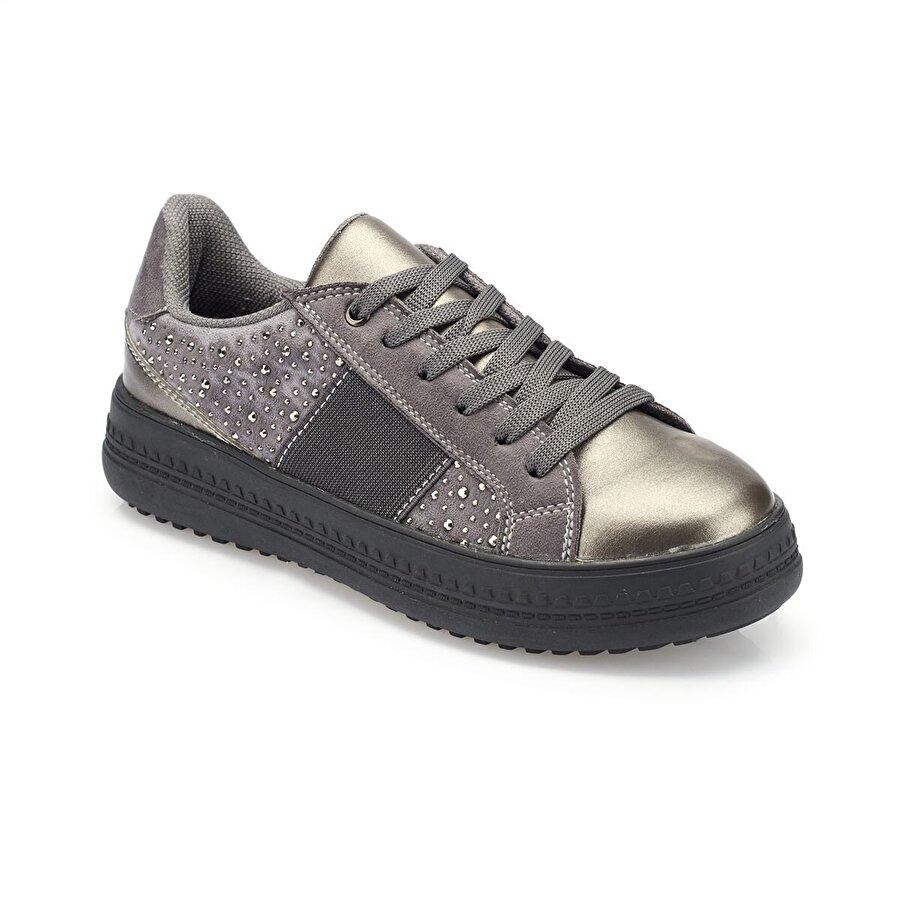 Polaris 82.312445.Z Gri Kadın Ayakkabı