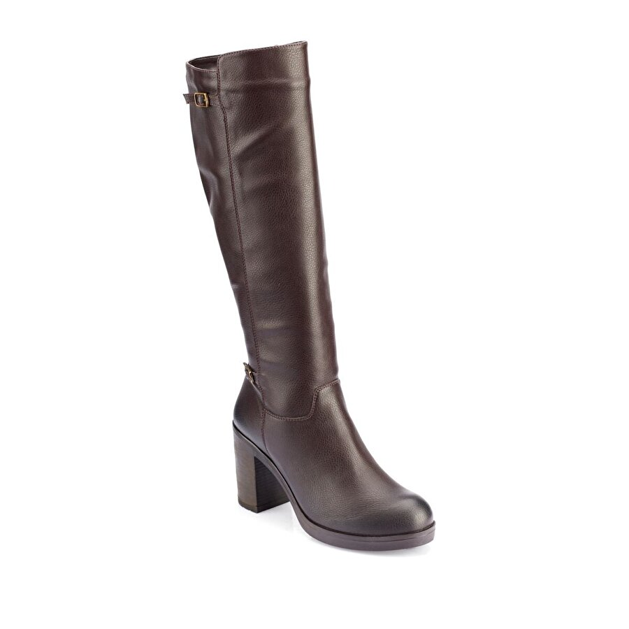 Polaris 82.312225.Z Kahverengi Kadın Dress Ayakkabı